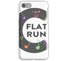 flat Run iPhone Case/Skin