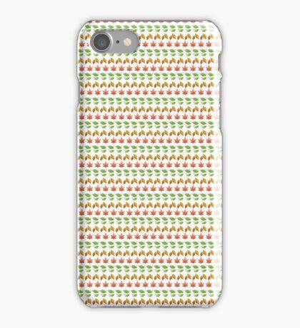 Changing Seasons (Emoji Pattern) iPhone Case/Skin