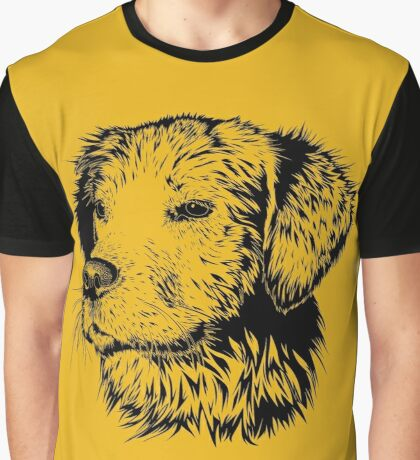 Golden Retriever Graphic T-Shirt