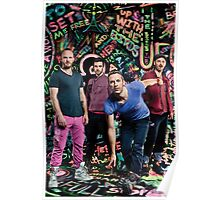 Coldplay 3 Poster