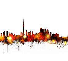 Toronto Canada Skyline Photographic Print