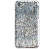 Birches, winter is upon us iPhone Case/Skin