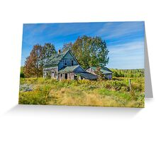 Abandoned House, Wentworth Valley, Nova Scotia Greeting Card