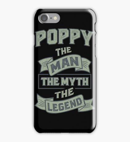 Poppy The Myth. Gifts for Him! iPhone Case/Skin