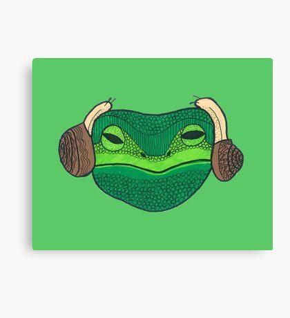 Leia Frog Canvas Print