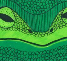 Leia Frog Sticker