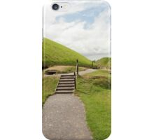 Celtic graves iPhone Case/Skin