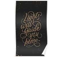 Coldplay Lights Poster