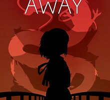 Spirited Away Movie Poster by cheryldesigns