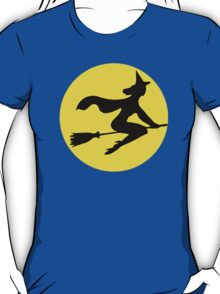 Witch Flying By The Moon T-Shirt