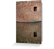 The Castle Wall Greeting Card