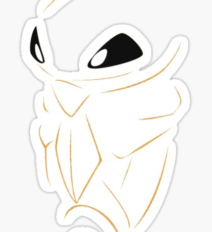 Kakuna Pokemon Sticker