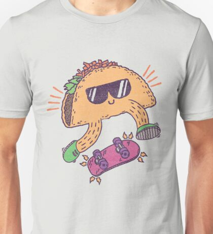 TACO FLIPS IS RAD YEAH! Unisex T-Shirt