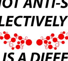 Selectively social Sticker