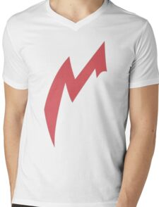 Zangoose Stripe Mens V-Neck T-Shirt