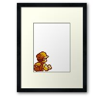 Red from Pokemon (Ash) Framed Print