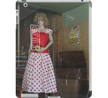 Lady in the window iPad Case/Skin