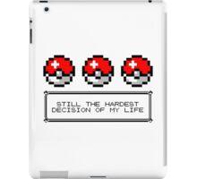 Decisions, Decisions... iPad Case/Skin