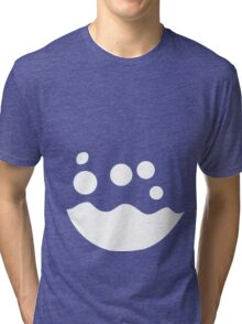 Azumarill Belly Tri-blend T-Shirt