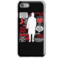 Hamilton Musical Quote iPhone Case/Skin