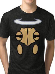 Shedinja Head, Halo, and Hands Tri-blend T-Shirt