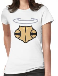 Shedinja Pokemon Head and Halo Womens Fitted T-Shirt