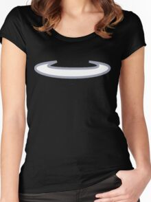 Shedinja Pokemon Halo Women's Fitted Scoop T-Shirt
