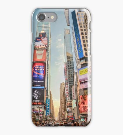 Times Square Hustle iPhone Case/Skin
