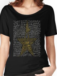 Hamilton Musical Quote Women's Relaxed Fit T-Shirt