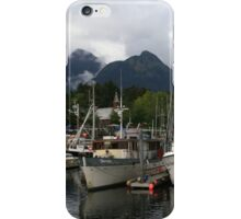All quiet in the harbour iPhone Case/Skin