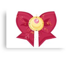 Sailor Moon Bow: Moon Prism Power Brooch  Canvas Print