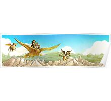 Chiricahua Mountains Panorama Poster
