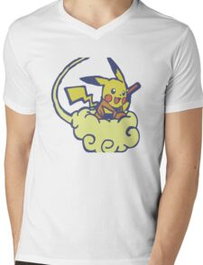 dragonmon Mens V-Neck T-Shirt