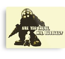Bioshock: Are you there, Mr. Bubbles? Metal Print