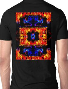 Blue and Red-1 Unisex T-Shirt