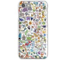 poke 4 iPhone Case/Skin