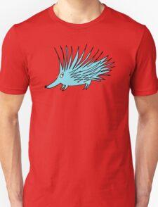 blue echidna Unisex T-Shirt