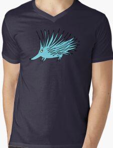 blue echidna Mens V-Neck T-Shirt