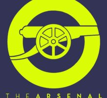 The Arsenal Third Kit Colors Sticker