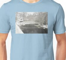Snow Storm In Somesville Maine Photograph Unisex T-Shirt
