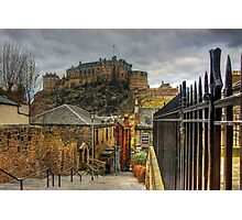 The Vennel Steps Photographic Print