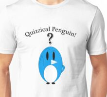 Quizzical Penguin Unisex T-Shirt