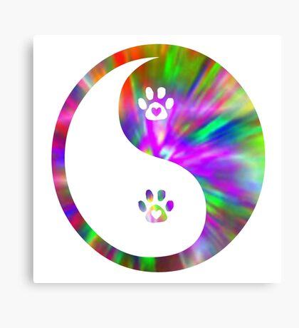 love for animals is the balance Canvas Print