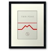 Twin Peaks High School Framed Print