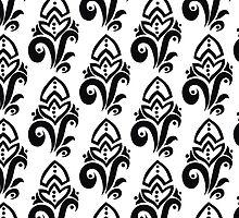 Black and white pattern by IraMukti