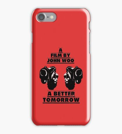A Better Tomorrow iPhone Case/Skin