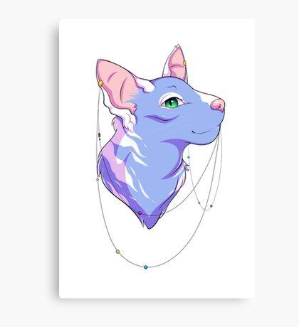 Divine Feline Canvas Print