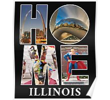 Come home to Illinois, no matter where you are Poster