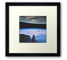 Close Proximity Framed Print