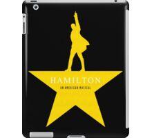 Hamilton musical quote iPad Case/Skin